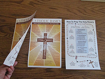 Catholic Basics Half Size Handout - English Version